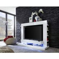AtyliaMeuble TV design mural LED Ambra blanc ATYLIA