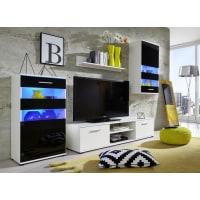 AtyliaMeuble TV design mural LED Graffik ATYLIA