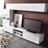 AtyliaMeuble TV design mural LED Pezzara ATYLIA