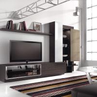 AtyliaMeuble TV design mural LED Pyrrhus ATYLIA Editions