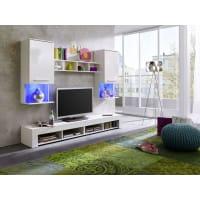 AtyliaMeuble TV design mural LED Solya ATYLIA