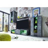 AtyliaMeuble TV mural LED Slaten ATYLIA