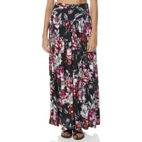 AugusteHazel Womens Maxi Skirt Black