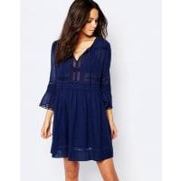 BA&SHColette - Robe tunique - Bleu - Bleu
