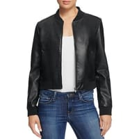 BagatelleFaux Leather Bomber Jacket