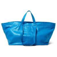 BalenciagaArena Creased-leather Holdall - Blue