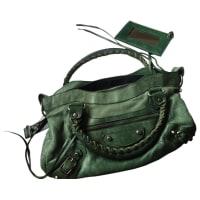 BalenciagaPre-Owned - First leather handbag