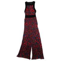 BalmainPre-Owned - Multicolour Velvet Jumpsuit