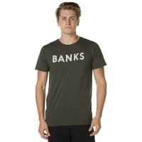 BanksClassic Mens Tee Green