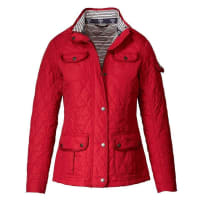 BarbourSteppjacke Buryhead Quilt, rot, Rot