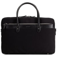 BaronBusiness Travel Bag - Black Canvas