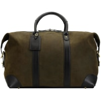 BaronWeekend bag - Green Suede