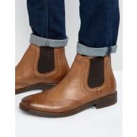 Base LondonSouthwark Leather Chelsea Boot - Tan