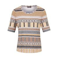 BaslerRound neck top with short sleeves from Basler multicoloured