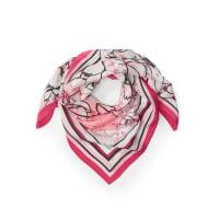 BaslerShawl in 100% silk from Basler bright pink