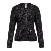 BaslerQuilted jersey jacket from Basler black