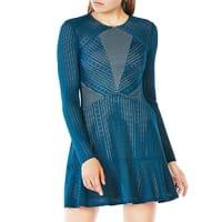 BcbgmaxazriaDaina Paneled Lace Dress