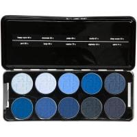 Beauty is LifeMake-up Augen Shadow Profi Set - Bleu Up Enthält folgende Lidschattenfarben 39c, 43c, 44c, 60c, 66c, 67c, 68c, 69c, 70c, 71c 35 g