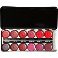 Beauty is LifeMake-up Lippen Lipstick Profi Set - Starlet Enthält folgende Lippenstiftfarben 02w-c, 03c, 04c, 06c, 13w-c, 14w-c, 16w, 24c, 25c, 44c, 48c, 53w 40 g