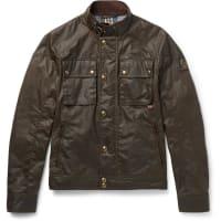 BelstaffRacemaster Waxed-cotton Jacket - Green