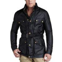 BelstaffRoadmaster Belted Jacket, Black