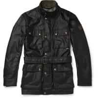 BelstaffRoadmaster Waxed-cotton Jacket - Schwarz