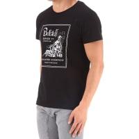 BelstaffT-Shirts für Herren, TShirts Günstig im Sale, Schwarz, Baumwolle, 2016, L M S