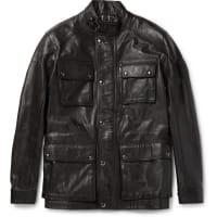 BelstaffTrialmaster Waxed-leather Jacket - Schwarz