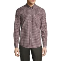 Ben ShermanFashion Gingham Button-Down Sportshirt