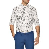 Ben ShermanPaisley Long Sleeve Sportshirt