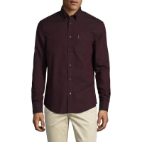 Ben ShermanSolid Button Down Sportshirt
