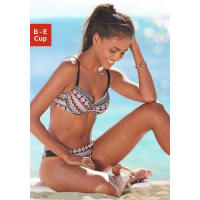 BenchBügel-Bikini, bunt, Cup E, bunt bedruckt