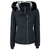 BenchKidder IV Girl-Winter-Jacke schwarz