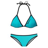 BenchTriangel-Bikini, grün, Cup A/B, türkis
