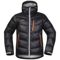 BergansMs Memurutind Down Jacket Black/Aluminium/Pumpkin M Vinterjackor & Parkas