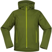 BergansMs Microlight Jacket Green Tea/Lime L Vindjackor