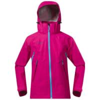BergansYouth Girl Ervik Jacket Hot Pink/Br SeaBlue/Cerise 152 Regnjackor