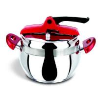 BergnerPressure Cooker 22Cm Stainless Steel Red Thun 4 L