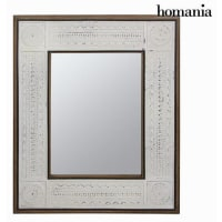 BigbuyEnve White Rectangular Mirror 10.2 Kg