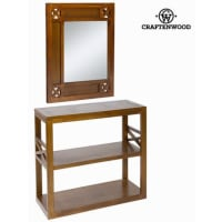 BigbuyHall With Forest Mirror - Collection Chocolate By Craften