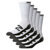BillabongSports Socks 5 Pack White