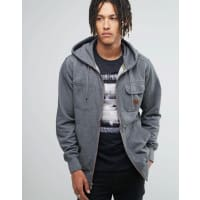 BillabongZip Up Hoodie with Chest Pocket