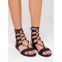 BilliniWomens Billini Black Nubuck Dash Sandals Black AUS 10