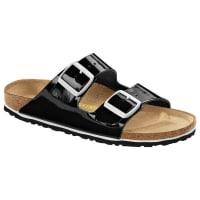 BirkenstockArizona Naturleder Lack Sandale schmal