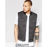Black Eye CollectiveMilitary Vest - Grey
