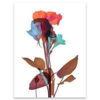 BlauMaschineOde aux Fleurs no. 1Acrylic - 18x24