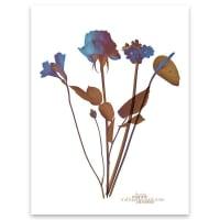 BlauMaschineOde aux Fleurs no. 3Print - 9x12