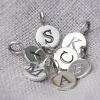 Bloom BoutiqueAdd Sterling Silver Letter Charms To My Product