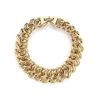 Bloomingdale's14K Yellow Gold Tight Oval Link Bracelet