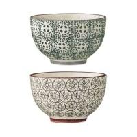 BloomingvilleKarine bowl Ø 10 cm 2-pack grey-green